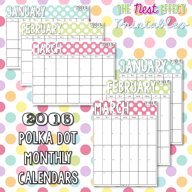 https://www.etsy.com/listing/212805050/2015-polka-dot-monthly-calendars