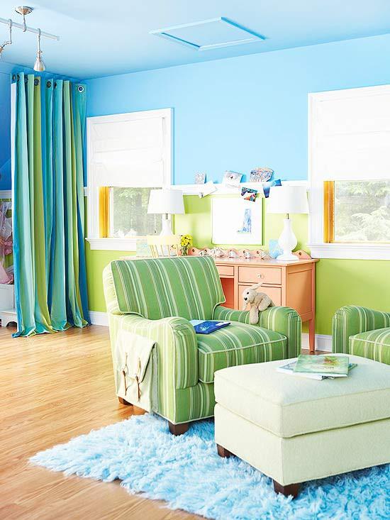 Cheap and chic home design i colori per le camere dei bambini - Colori camere bambini ...