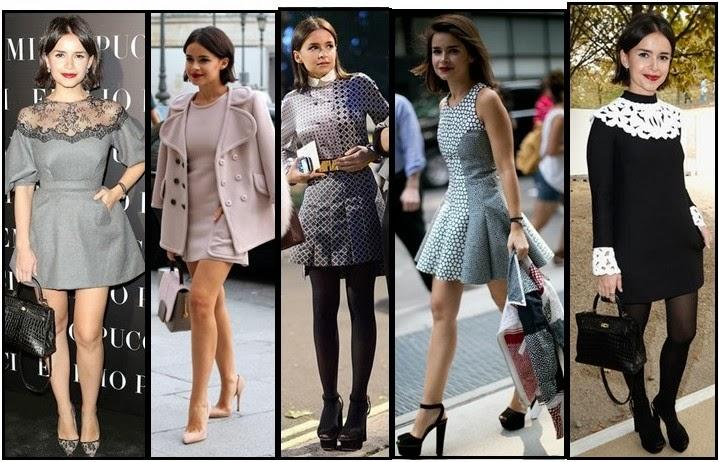 Miroslava Duma en la semana de la moda
