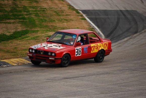 Operate While Racing - Operation BMW Art Car at 24 Lemons