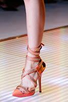 Сандали с високи токчета на Versace