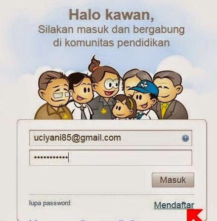 Mendaftarkan Email
