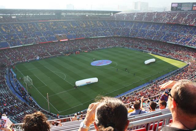 camp nou hiszpania