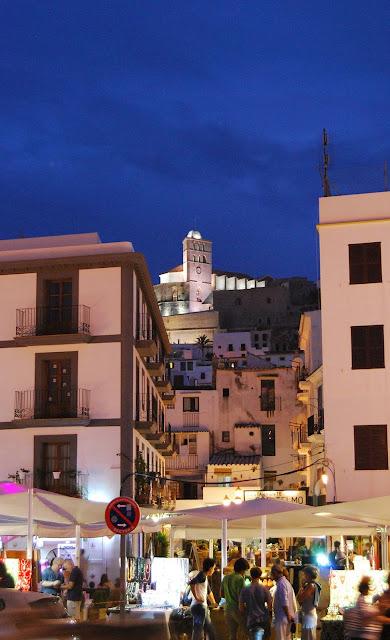 Dalt Vila en Ibiza