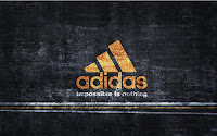 Adidas Logo - impossible is nothing, high quality wallpaper with 1920x1200 pixels resolution, download for free