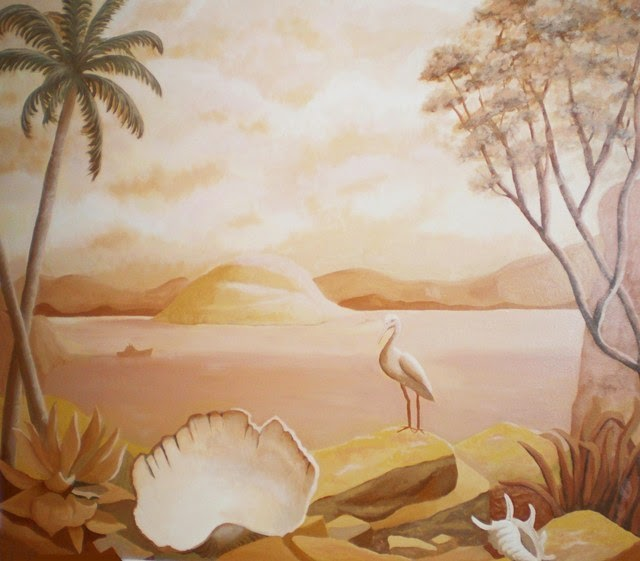 Ideas for painting a wall mural for Mural painting designs