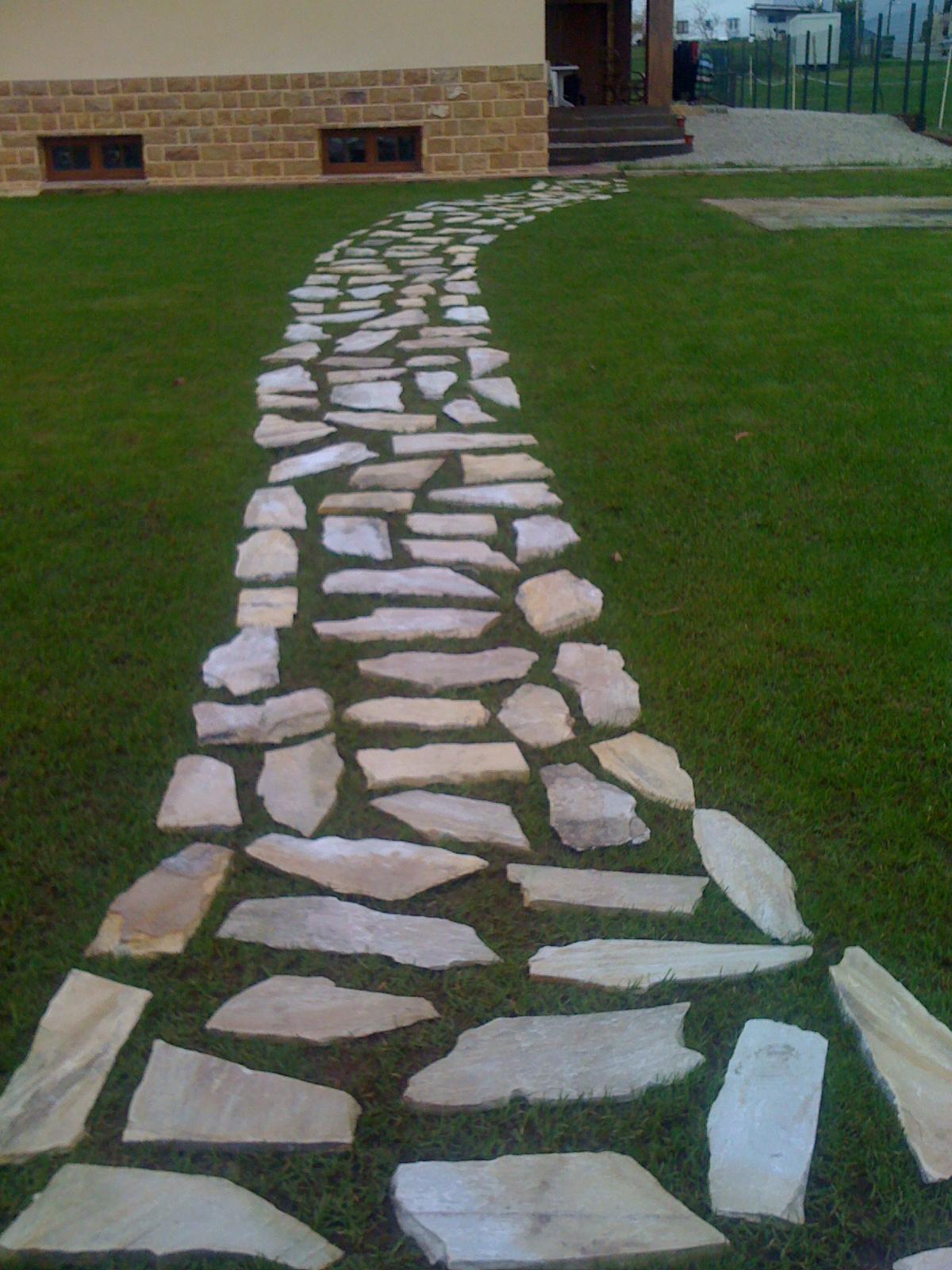 Jardinlife paseo de piedra - Entradas de piedra natural ...