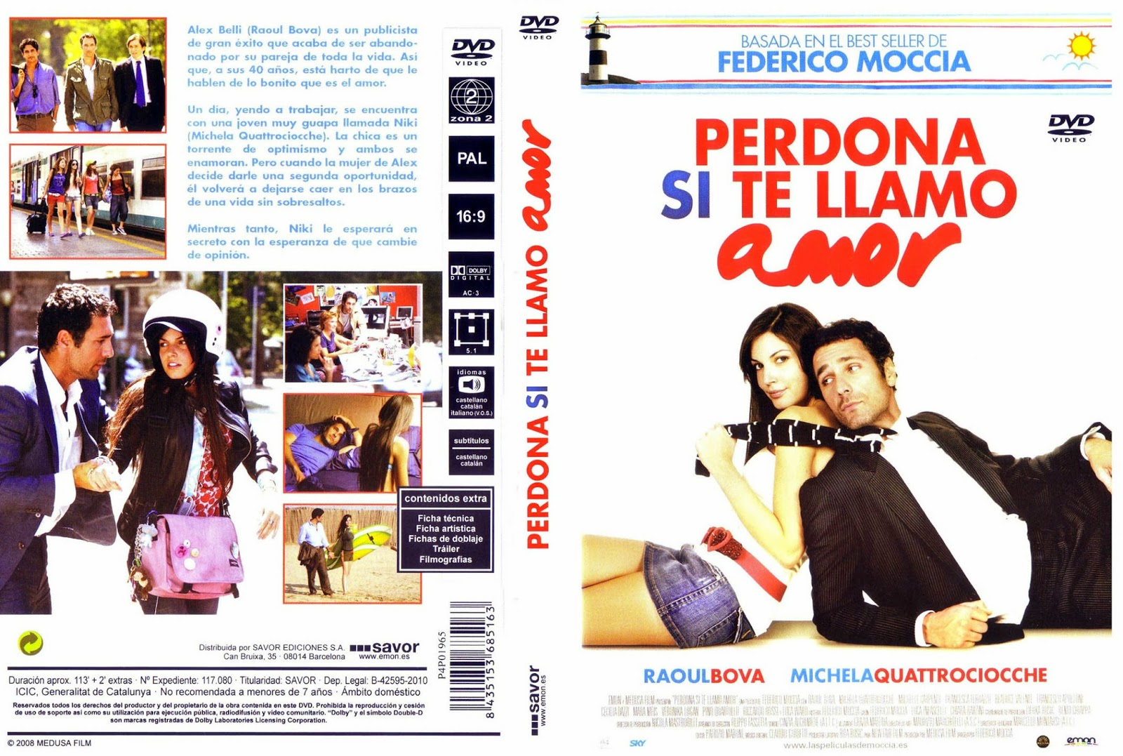 Perdona Si Te LLamo Amor DVD