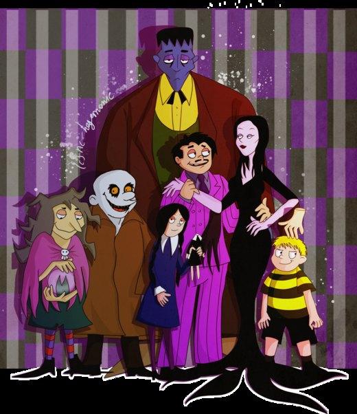 The Addams Family por Hegichern