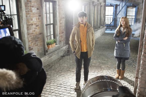 Bae Suzy & Kim Soo Hyun Bean Pole Picture