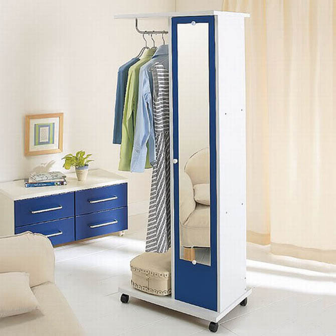 cool wardrobe interior shelving ideas