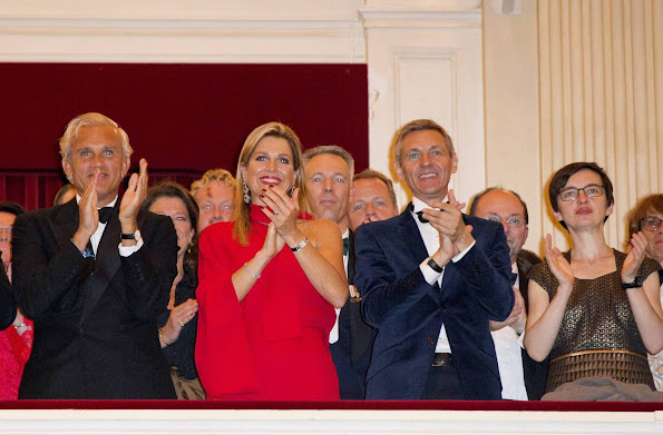 Queen Maxima attends the opening of the new season of the Royal Concertgebouw Orchestra (Koninklijke Concertgebouworkest)
