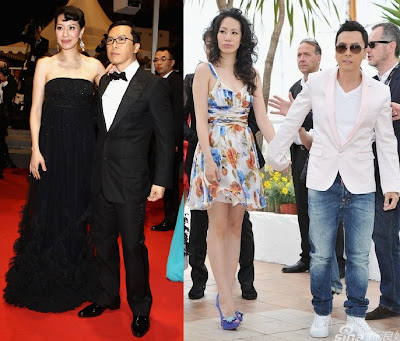Cecilia Wang and Donnie Yen were promoting Wu Xia at Cannes. Cissy