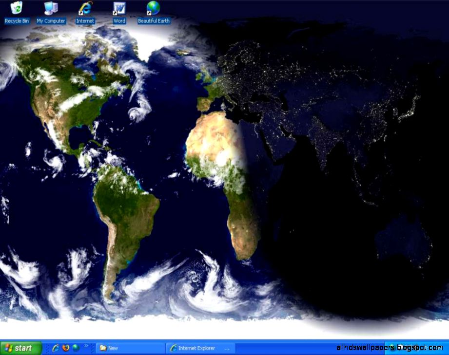 Beautiful Desktop Earth Wallpaper Screen Saver 66 screenshot at