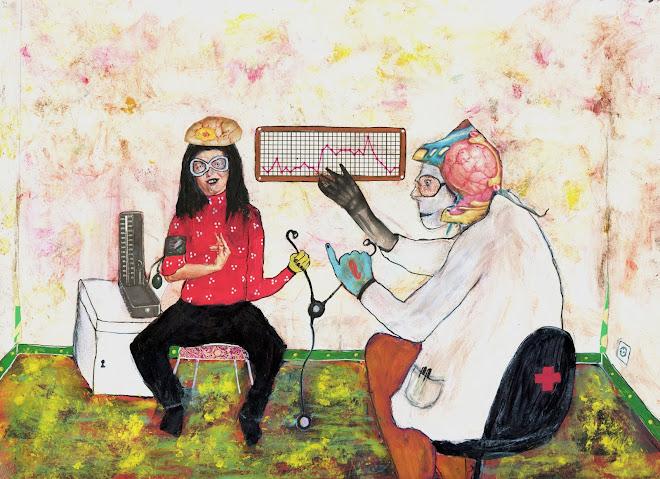 illustration pour le Monde Cardiologie (journal Le Monde daté du 30 oct. 2012)