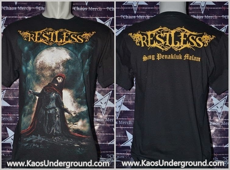 kaos band restless underground