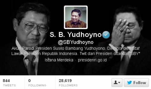 Twitter S. B. Yudhoyno @SBYudhoyno