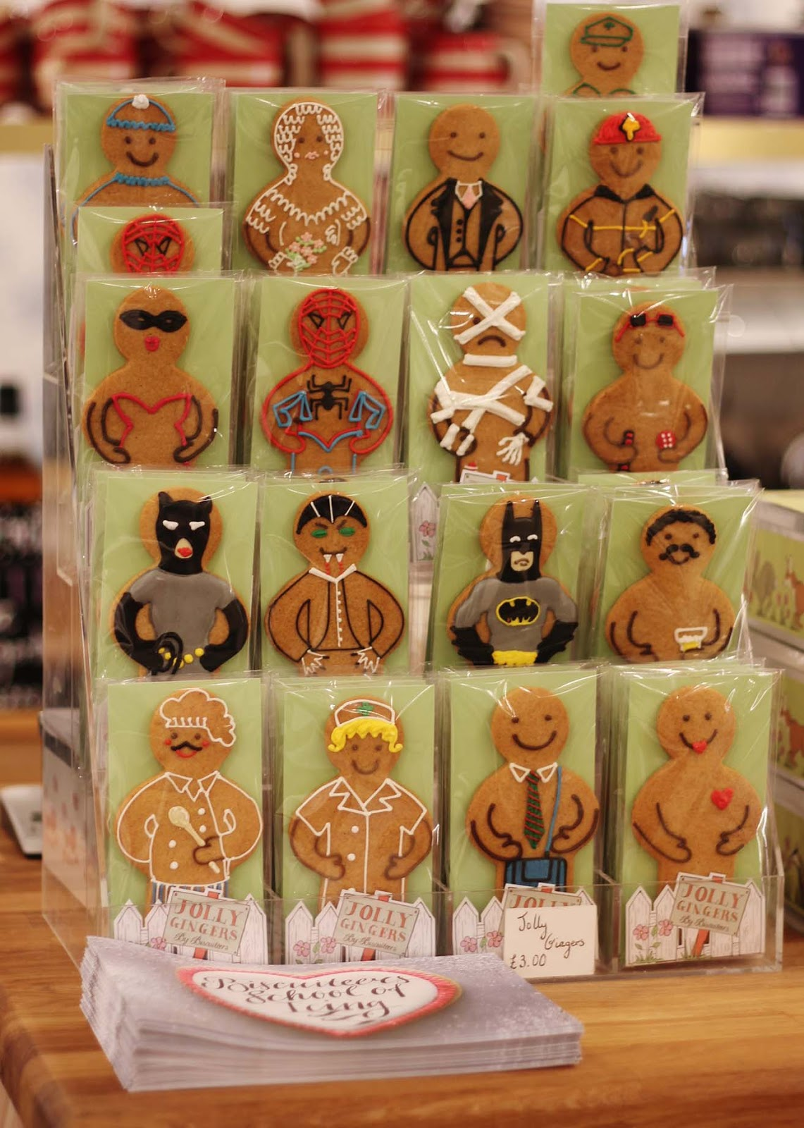 gingerbread men biscuiteers