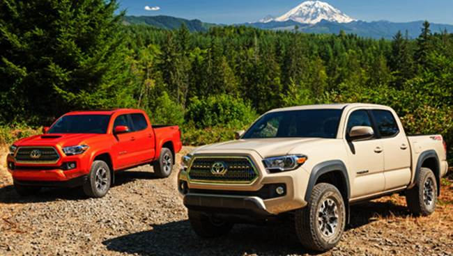 2017 Toyota Tacoma Mid-size Pickup First Drive