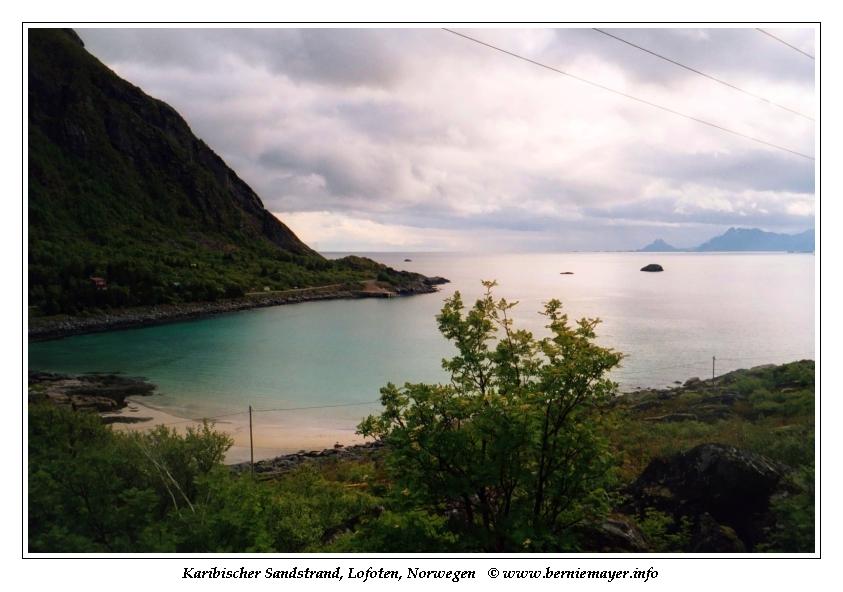 karibisch-skandinavischer Sandstrand