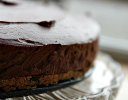 Kenwood Christmas Menu: No Bake Chocolate Orange Cheesecake