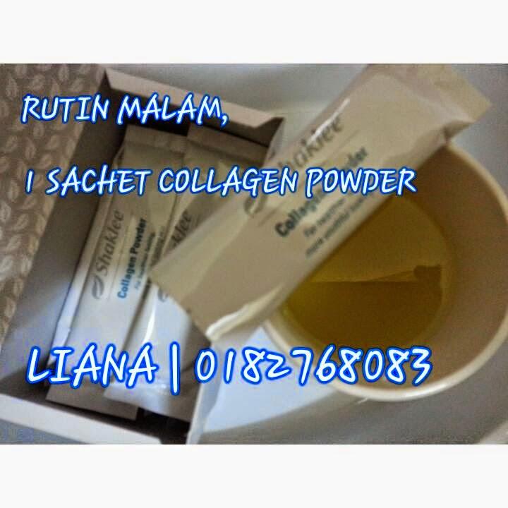 Cara makan Shaklee Collagen Powder untuk kesan terbaik dan cepat