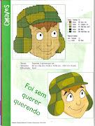 TURMA DO CHAVESPONTO CRUZ. Seguem gráficos do desenho animado do Chaves.