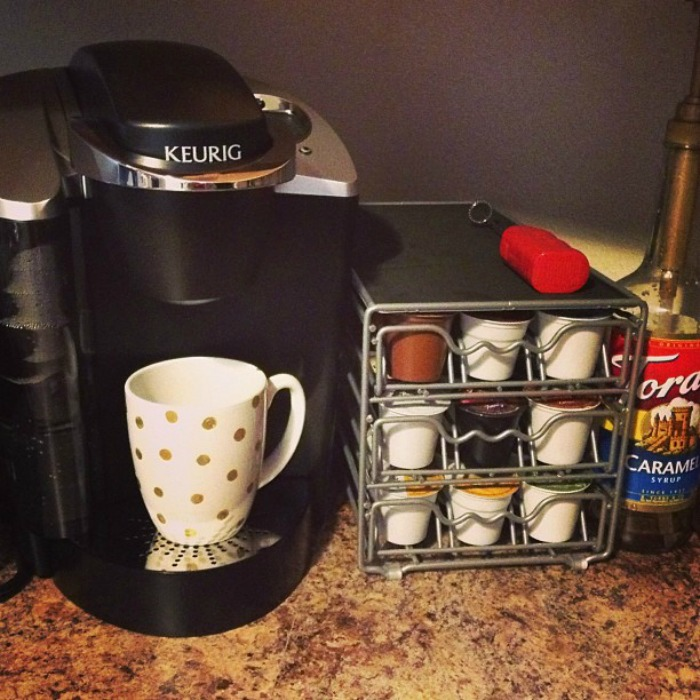 Keurig Signature and my coffee station!