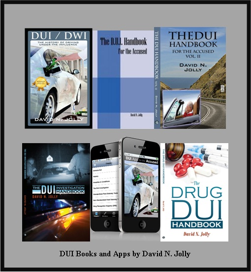 DUI Books by David N. Jolly