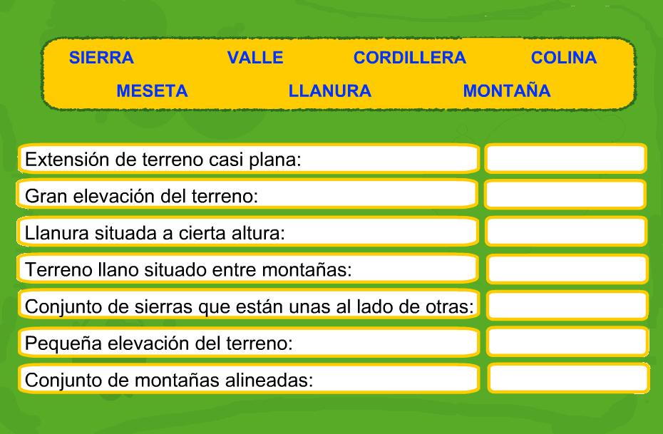 http://www.primerodecarlos.com/TERCERO_PRIMARIA/enero/Unidad_7/cono/actividades/paisaje_interior.swf