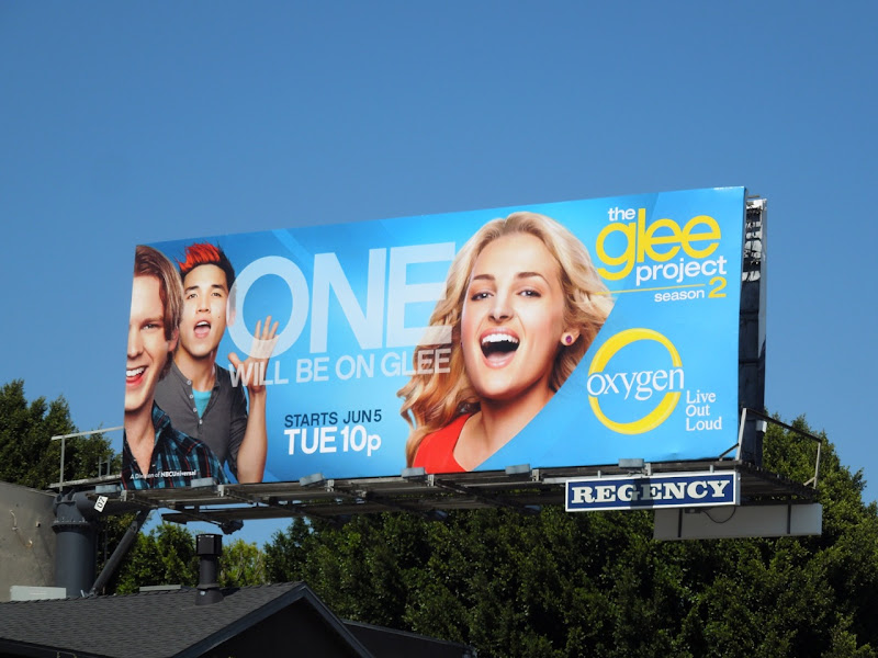 Glee Project season 2 girl billboard