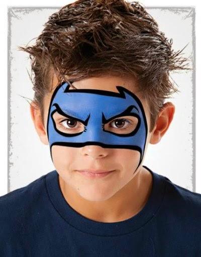 Maquillaje Batman