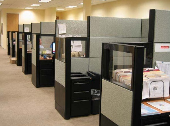 Modern Office Cubicle Design Ideas