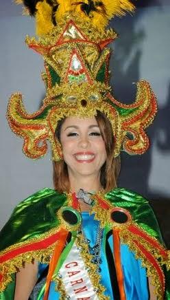 Reina Fesfile Nacional Carnaval Dominicano 2014