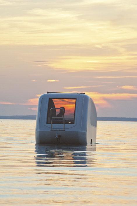 Trailer Walk Boards : Sealander amphibious camper video designcombo