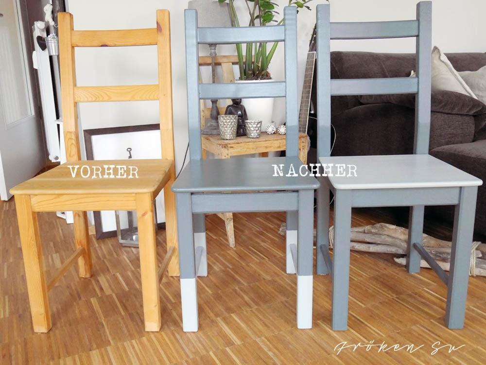 fr ken su mein kreativblog upcycling ikea st hle 4x anders. Black Bedroom Furniture Sets. Home Design Ideas