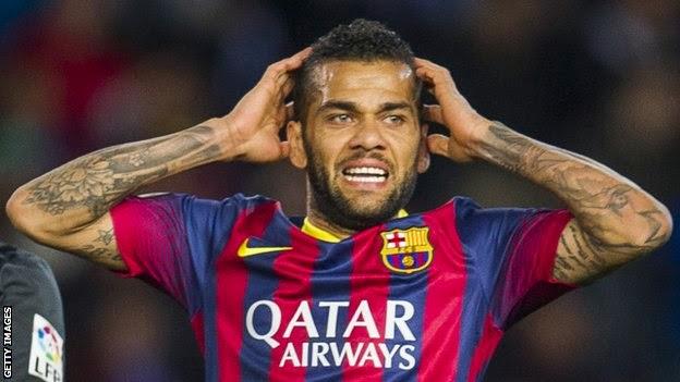 Dani Alves bisa tetap di Barcelona