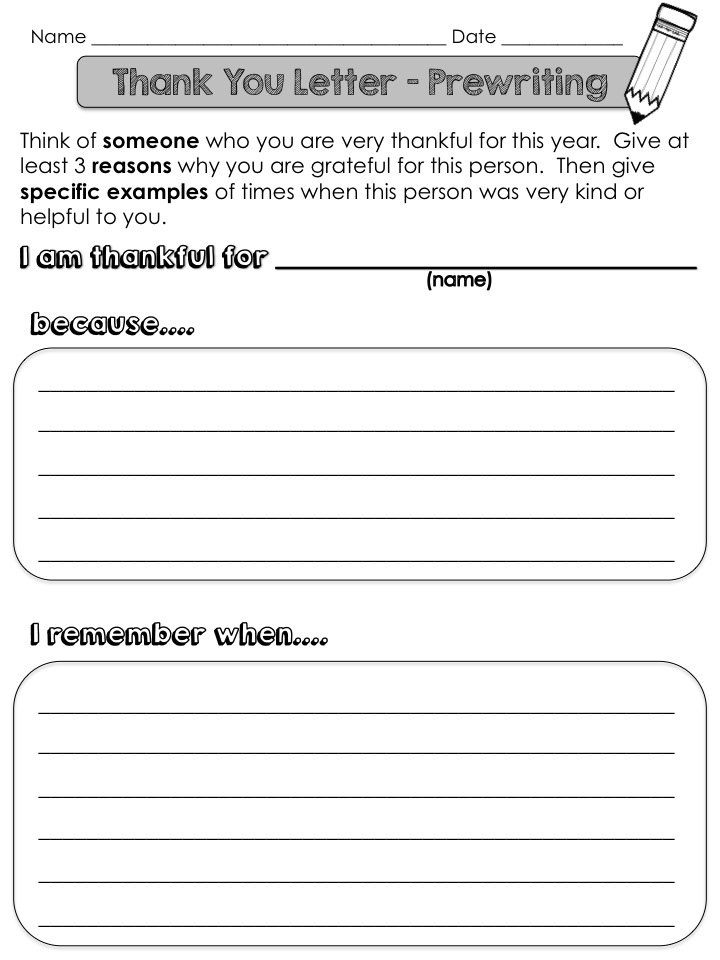 letter template for students