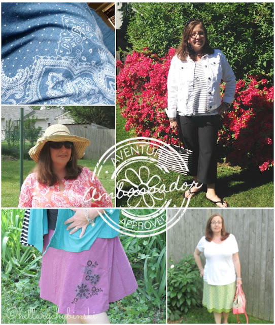 A Sampling of Summer Style Ideas featuring Clothing from Aventrua
