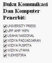 Buku Ilmu Komunikasi Penerbit University, UPP, Usaha, Widya, Puspita, Utama, Yudhistira Online Murah
