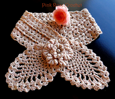 Free Crochet Scarf Pattern {Pretty Little Pineapple Neck Warmer ...