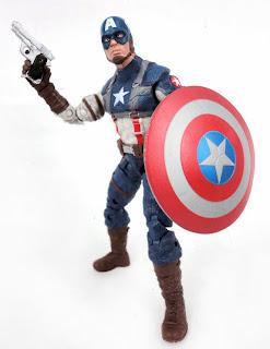 Hasbro Captain America Marvel Legends WWII Captain America Figure