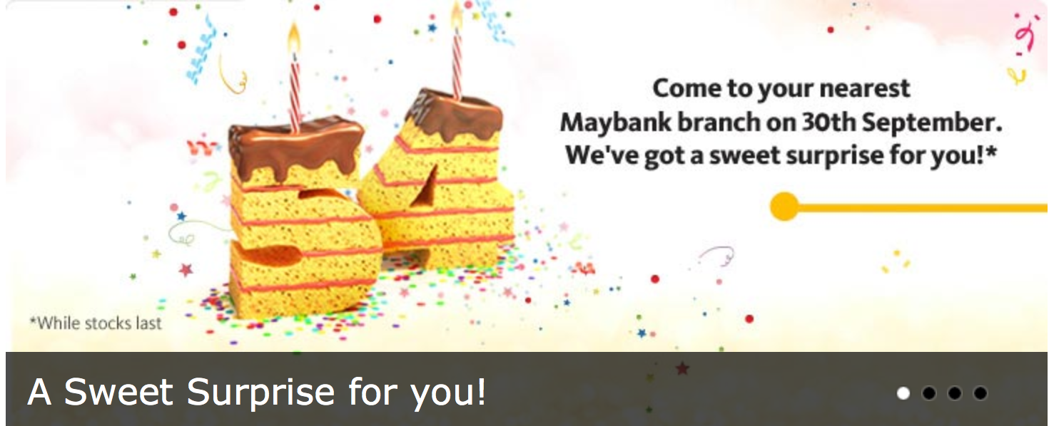 Happy Birthday Maybank !