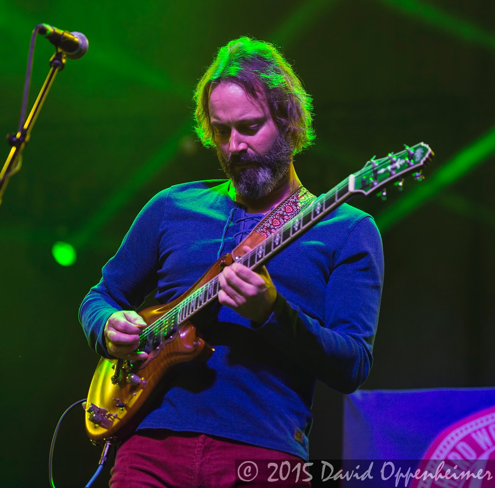 Neal Casal performing with Hard Working Americans