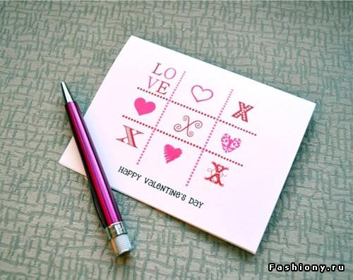 Как оформит красиво открытку 481