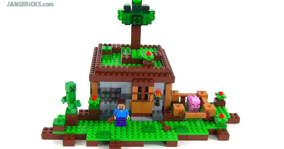 LEGO Minecraft The First Night Review Set 21115