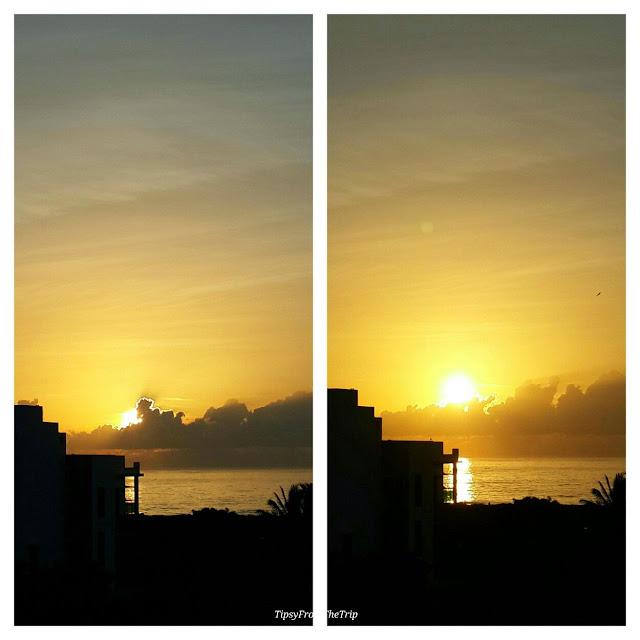 A Bay of Bengal sunrise, near Chennai.