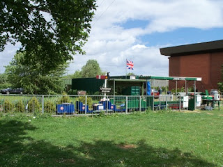The Miniature Railway at Lynnsport & Leisure Centre in King's Lynn