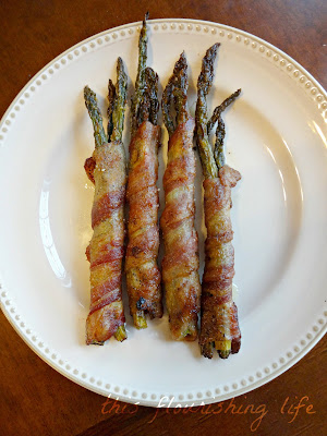 Tahini Roasted Bacon-Wrapped Asparagus Recipe