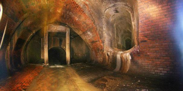 Moskava'nın şehir altı tünelleri